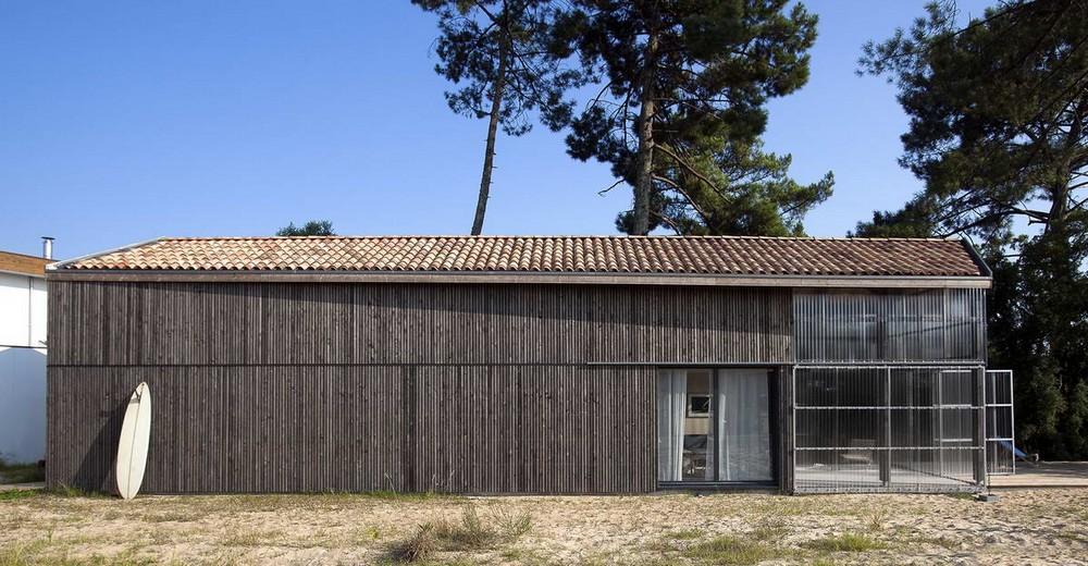 Семейный дом-сарай для отдыха во Франции