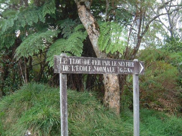 Сказочный каньон Тру де Фер на острове Реюньон