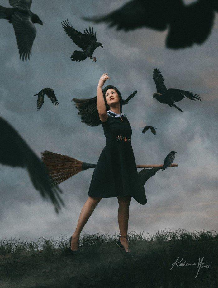Какой могла бы быть жизнь современной ведьмы
