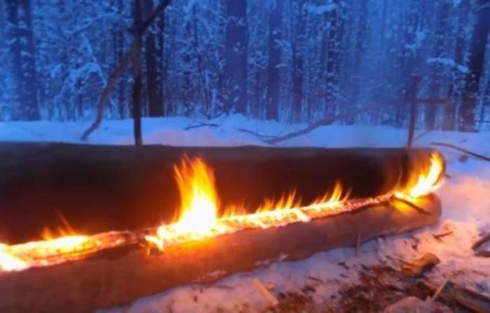 Нодья – костер длительного горения