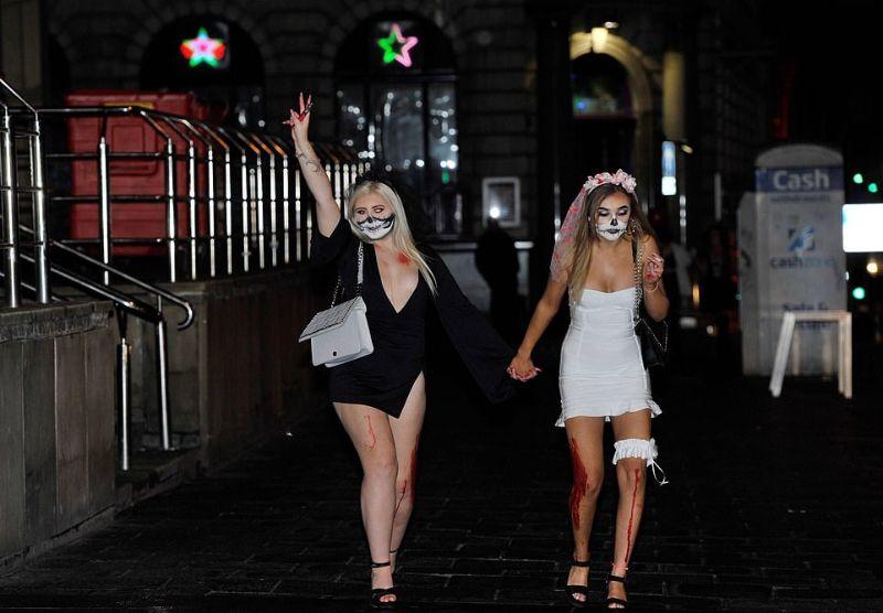 Празднование Хэллоуина в Британии