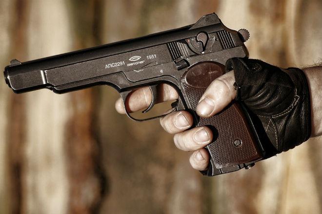 Стечкин - любимый пистолет офицеров