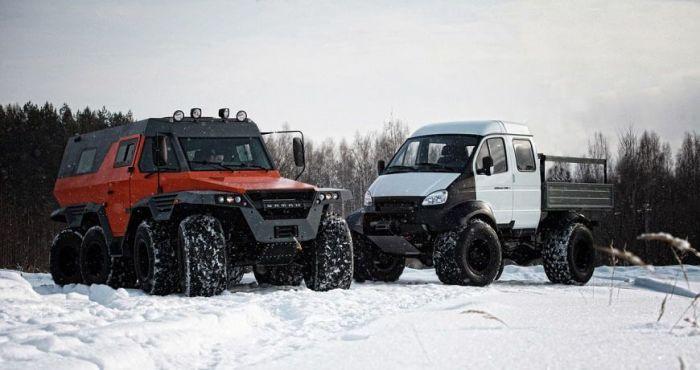 Внедорожники марки ГАЗ, о которых многие даже не догадываются