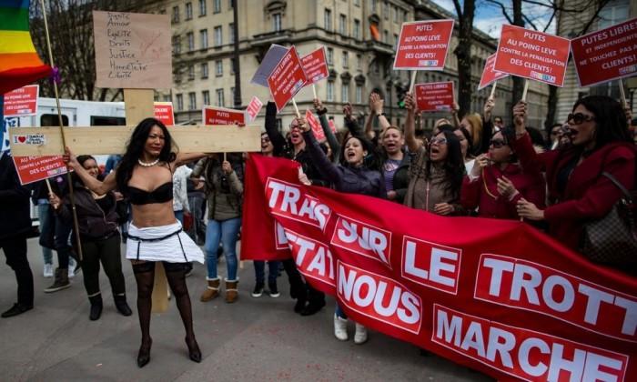 Европейские страны, в которых легализована проституция