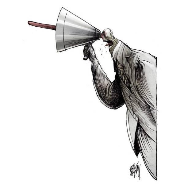 Проблемы современного общества от мексиканского иллюстратора