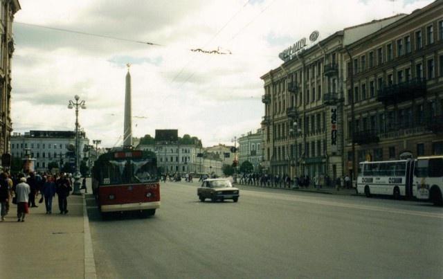 Фотографии Петербурга в 1990-е годы