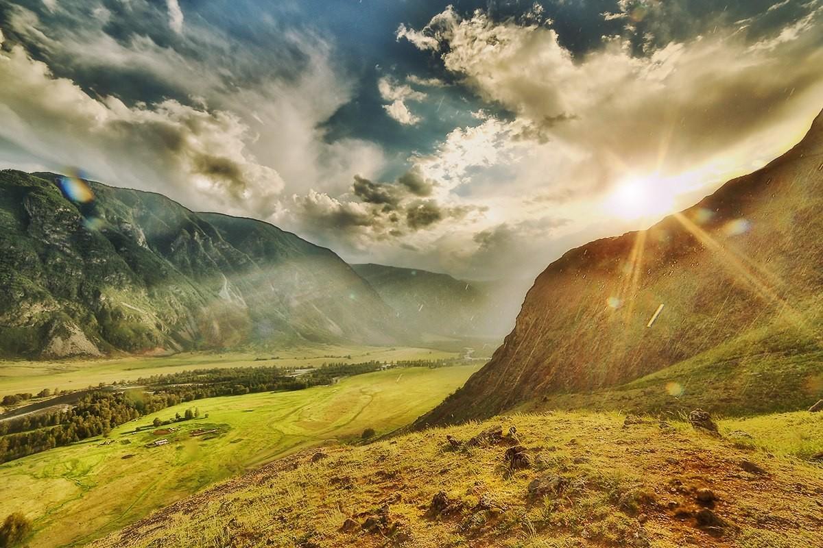Фотографии с самыми красивыми видами Алтая