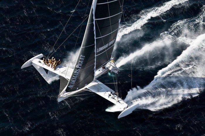 Hydroptere - самый быстрый парусник в мире