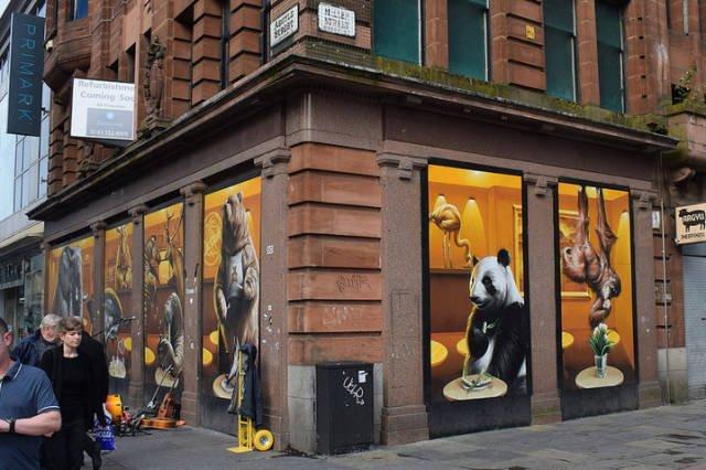 Примеры потрясающего стрит-арта