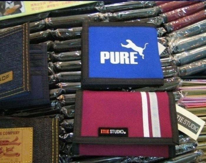 Забавные подделки и копии товаров