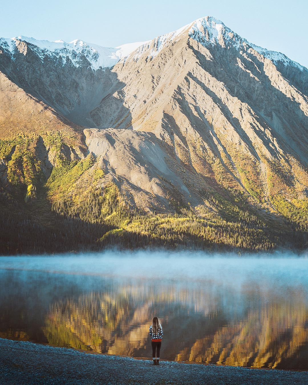 Пейзажи и приключения на снимках Брэйдина Тота