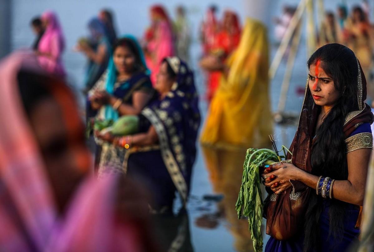 Фестиваль Чхат Пуджа в Индии