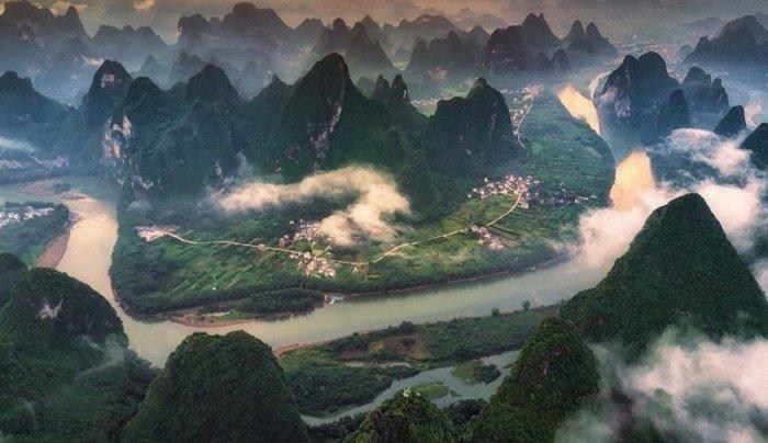 Китай - страна контрастов на снимках