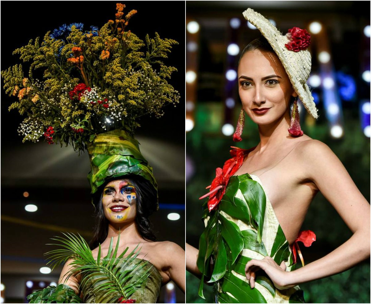 Модный показ BioFashion 2018 в Колумбии