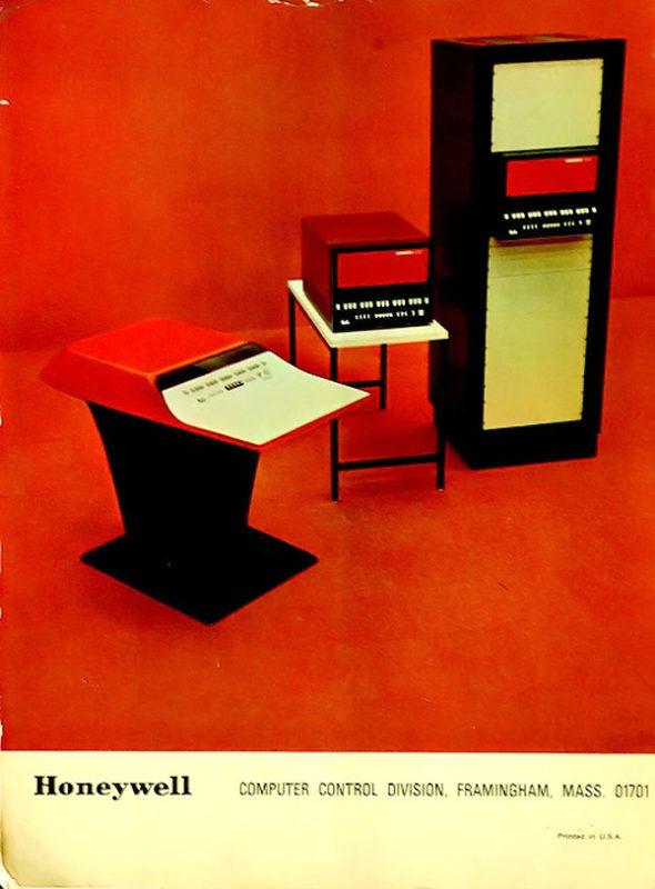 Кухонный компьютер Honeywell Kitchen для домохозяек 70-х