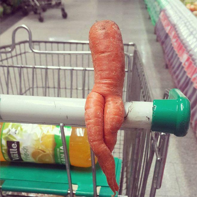 Морковь тоже умеет соблазнять