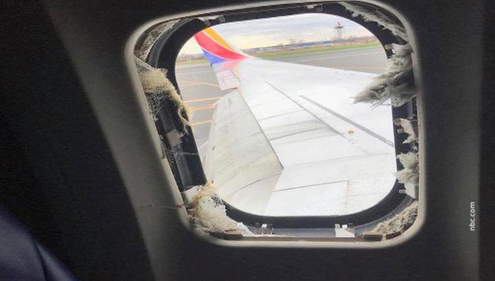 Почему иллюминаторы в самолетах овальной формы