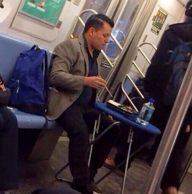 Странные пассажиры в общественном транспорте