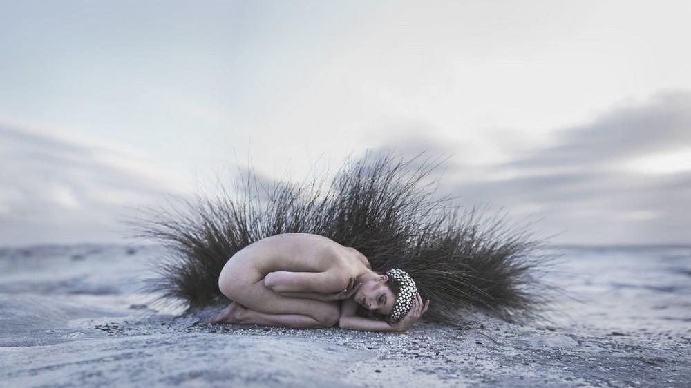 Концептуальная портретная фотография Роба Вудкокса
