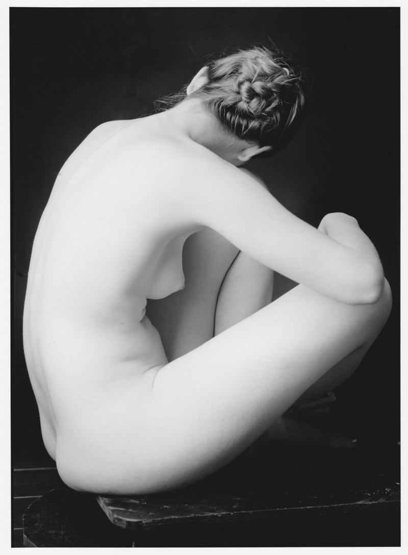 Черно-белые снимки девушек от Рутгера тен Бруке
