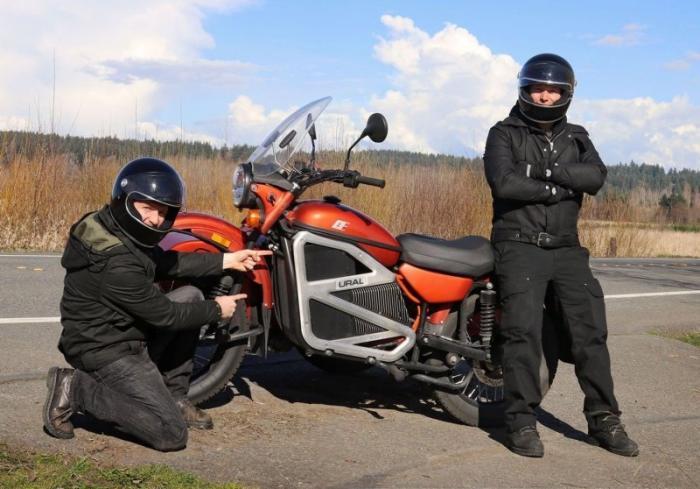 Az Ural motorkerékpár elektromos oldala