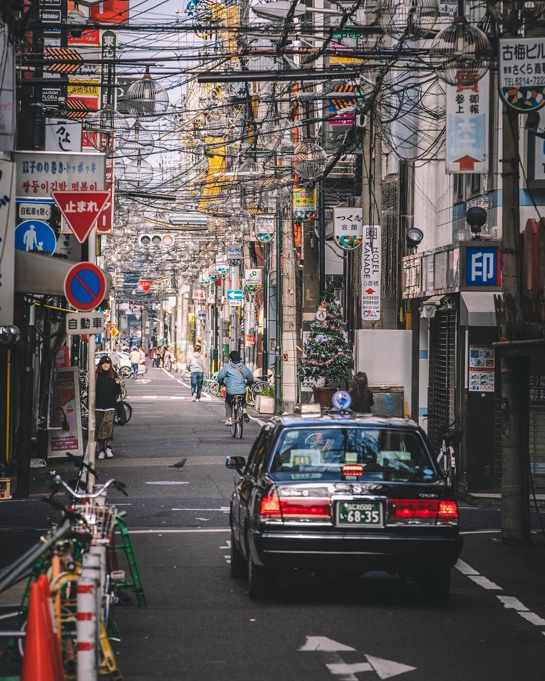 Современная уличная фотография от Такеши Хаякавы