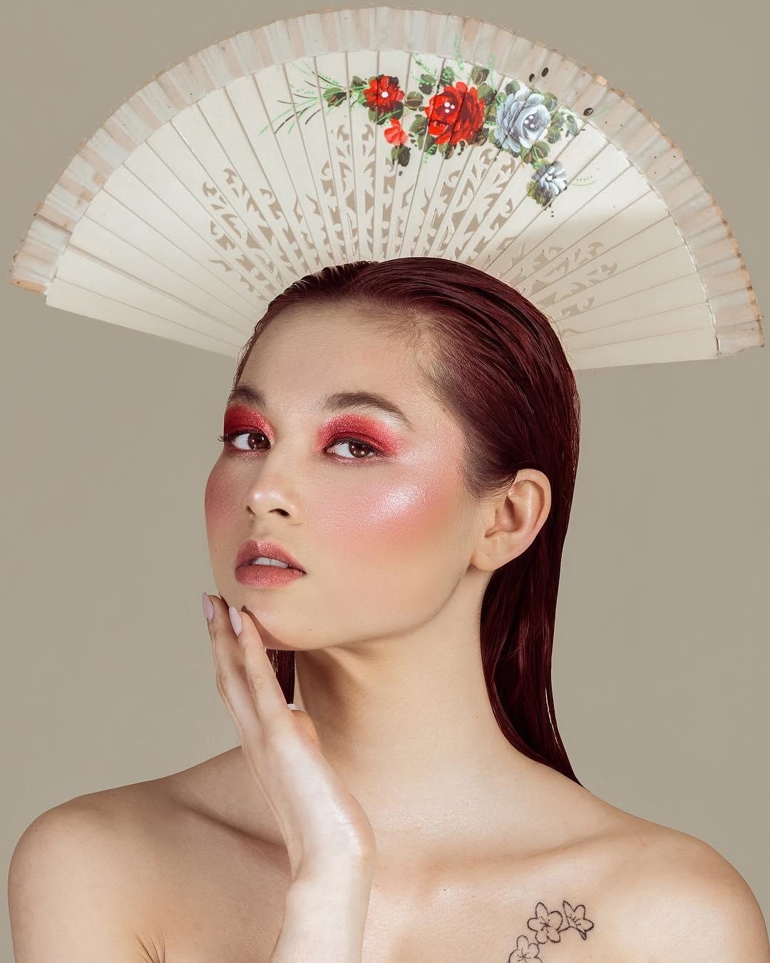 Яркая мода, красота и гламур на снимках Инес Буш