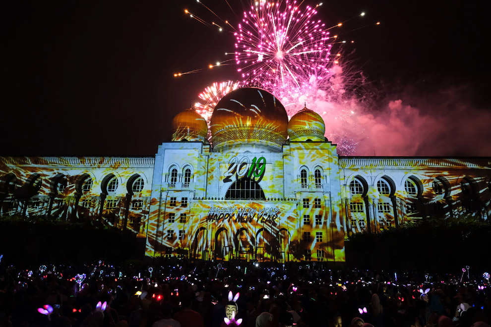 Hogyan volt az új év különböző országokban