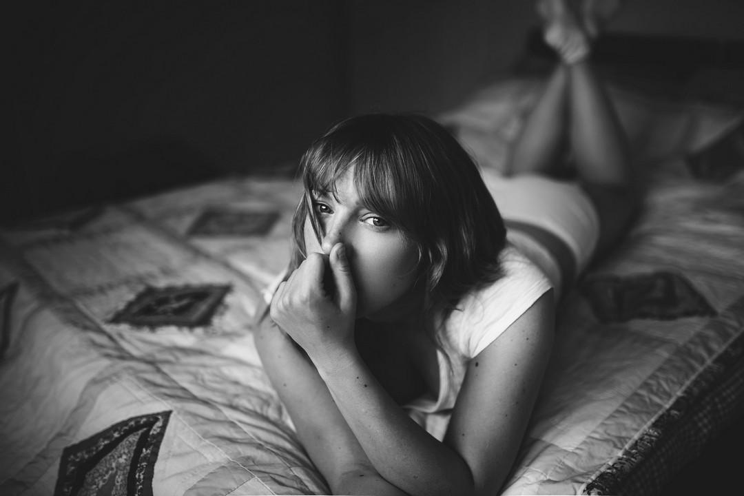 Чувственные портреты девушек от Александры Кэмерон