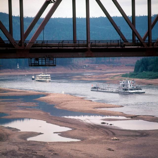 Река Лена в 1970-е годы на снимках Марка Редькина