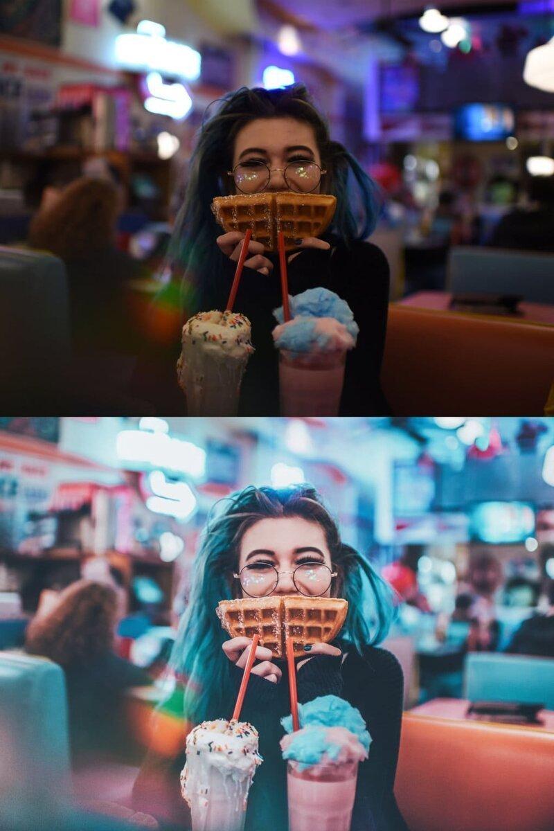 Фотограф из Нью-Йорка показал снимки до и после обработки