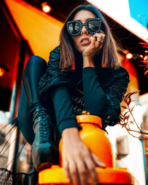 Уличные портреты девушек от Гильермо Брисено