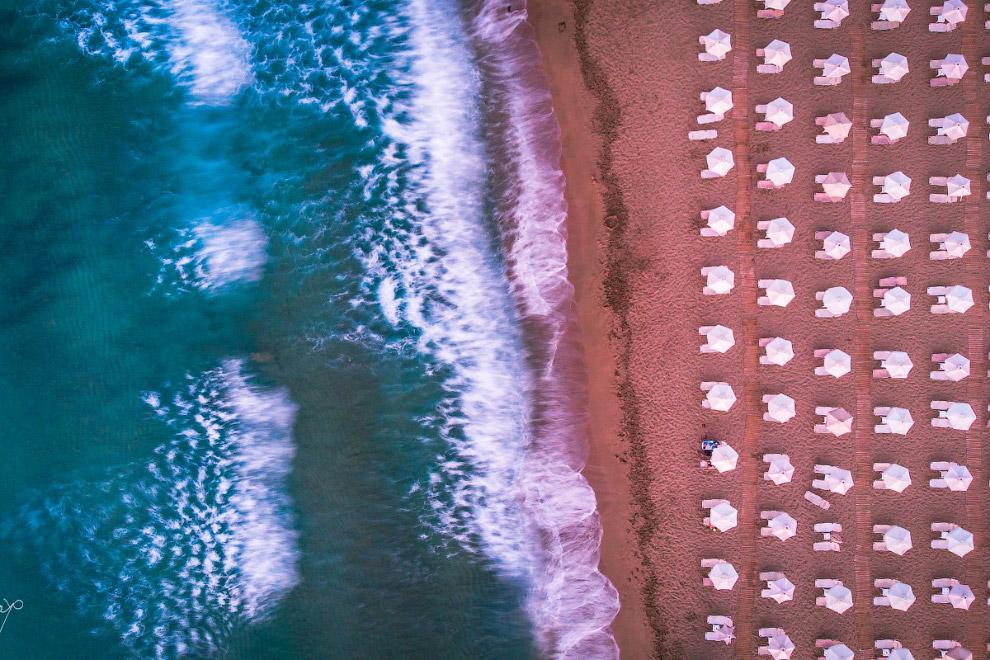 Победители ежегодного фотоконкурса Dronestagram