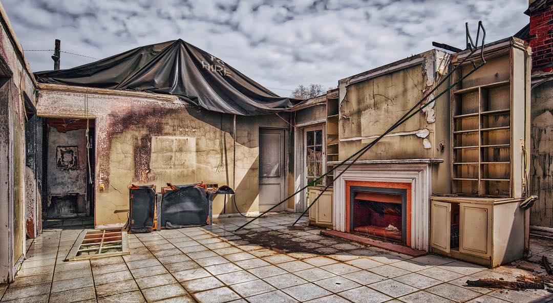 Красочные заброшенные места Мельбурна от Алессандро Сервадеи