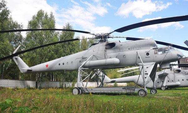 Mi-10 közlekedési helikopter - katonai repülő daru