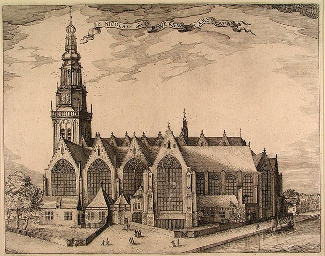 Amszterdam legrégebbi temploma
