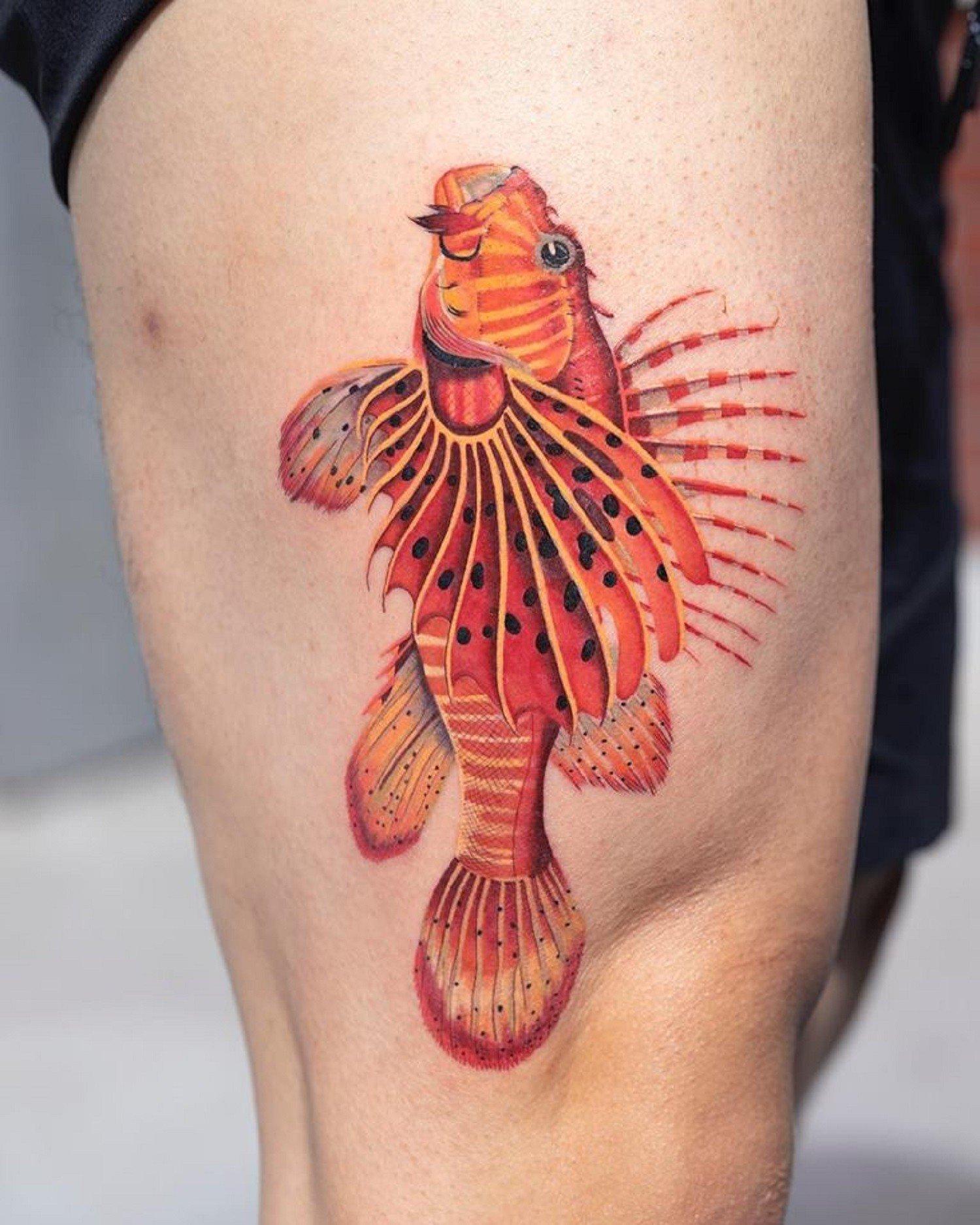 Красочные татуировки от Zihee Tattoo