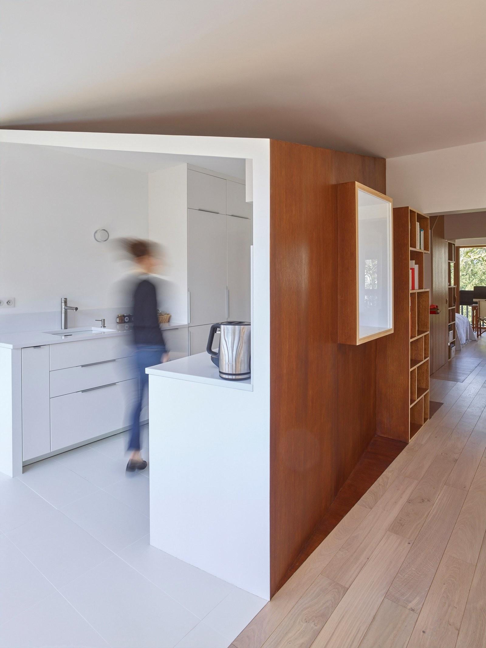 Квартира в пригороде Парижа, в которой легко поддерживать порядок