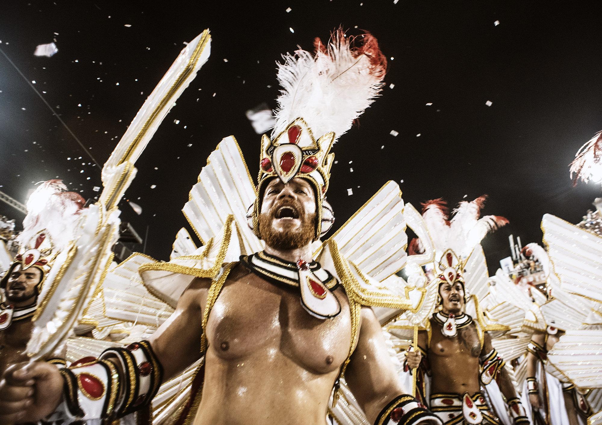 A karnevál első napjai Rio 2019-ben