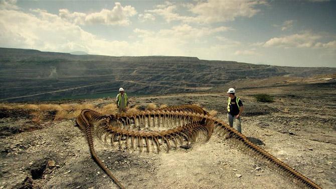 Titanoboa - ősi szörny kígyó