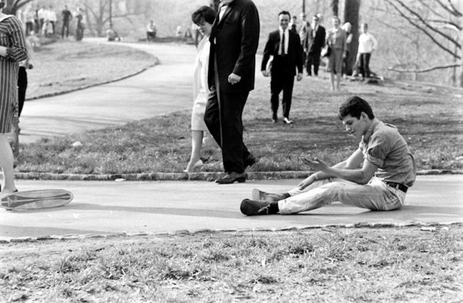 60-as évek korcsolyázói a Bill Epprige képein
