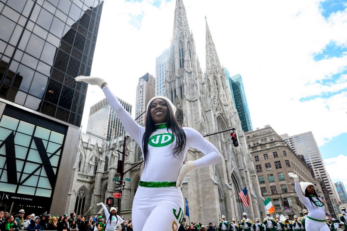 Parádé a New York-i Szent Patrik napja tiszteletére