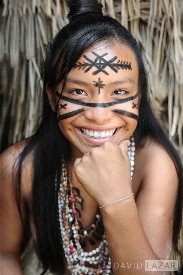 Амазонское племя, фотографии Дэвида Лазара