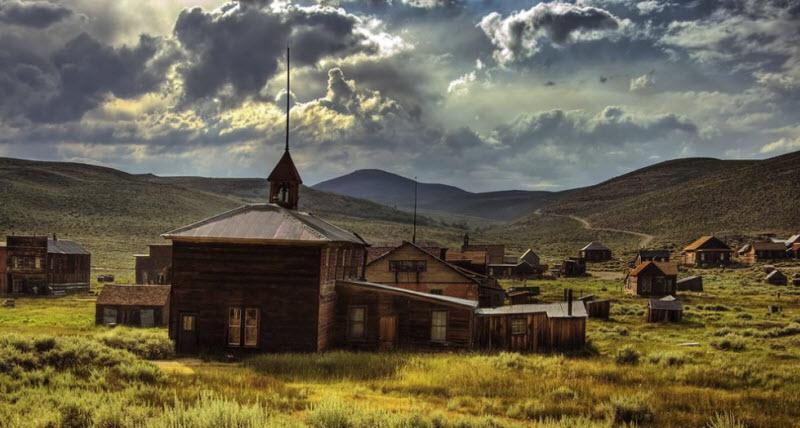 Bodie Ghost Town: напоминание о Золотой лихорадке