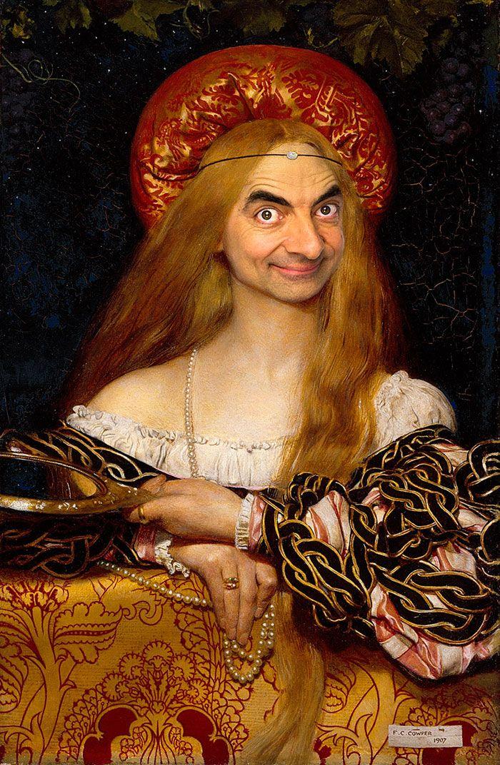 Мистер Бин на шедеврах классической живописи