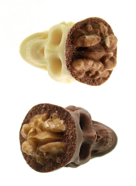 Оригинальные шоколадные конфеты Skulls