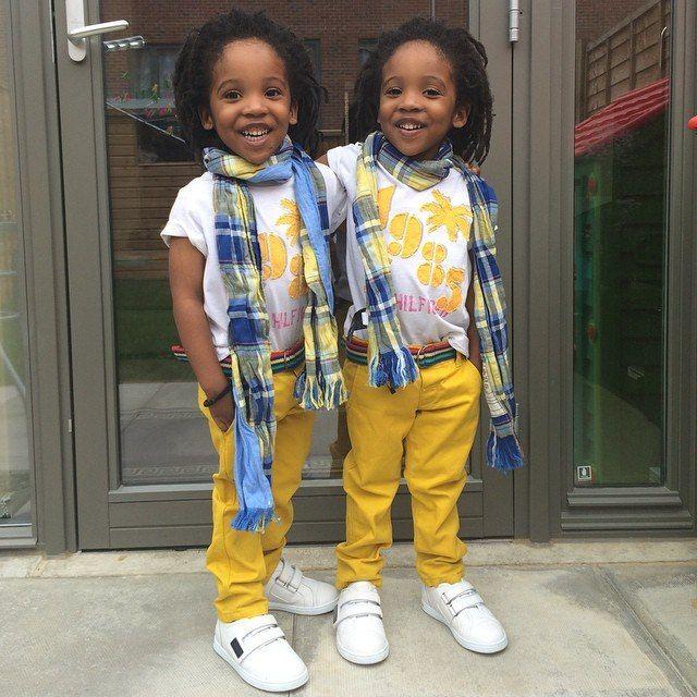 Самые модные близнецы Инстаграма