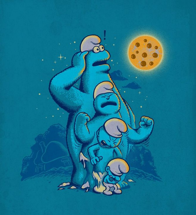 Саркастические мульт-карикатуры от Бена Чена