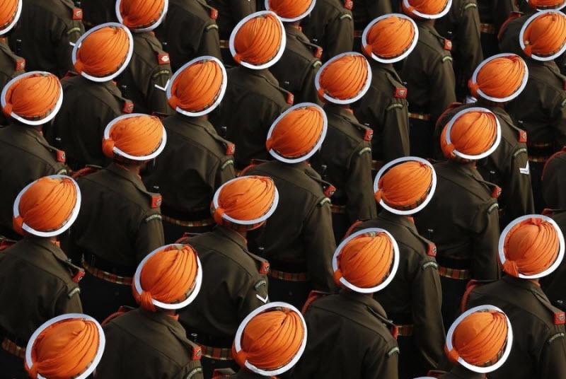 Солдаты во время парадов