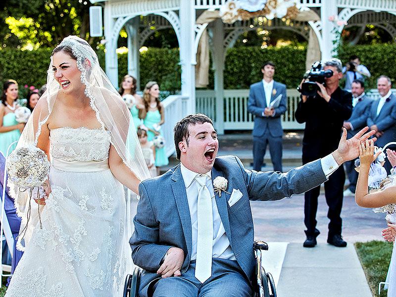 Свадьба мечты в Диснейленде